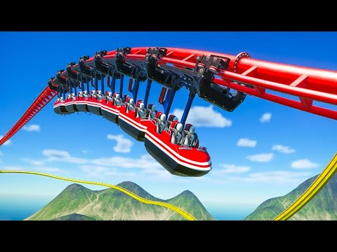 This Roller Coaster is just Unbelievable!! (Planet Coaster Mega Park)