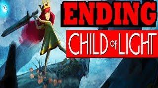 """Child of Light ENDING FINAL BOSS UMBRA QUEEN """"Child of Light ENDING PS4 PC"""""""