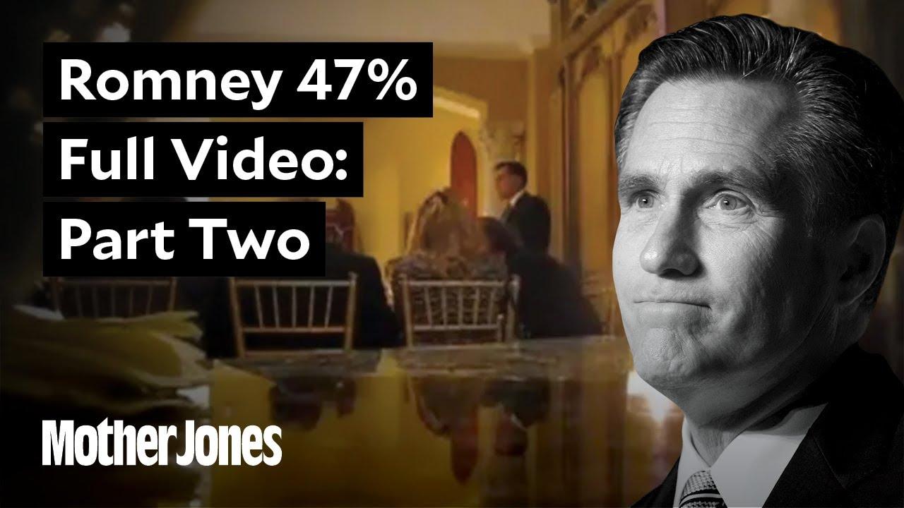 Full Mitt Romney Fundraiser Video Part Two (31:04) thumbnail