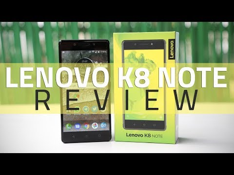 Lenovo K8  Note Review | Specs, Camera, Verdict, and More