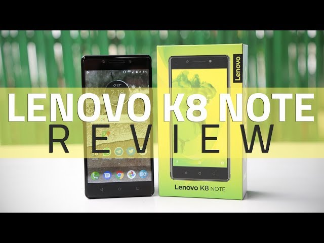 Lenovo K8 Note Review | NDTV Gadgets360 com