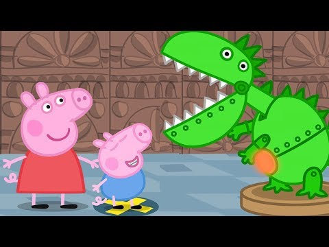Peppa Pig English Episodes - Peppa and George's Trip to the Museum! Peppa Pig Official