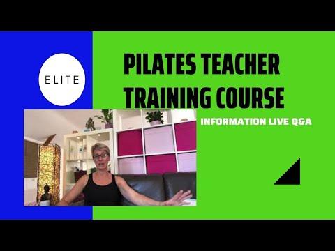 Pilates Teacher Training Course - YouTube