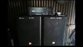 Ahuja Amplifier + Ahuja Speaker With Jbl Cabinet Sound Test