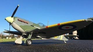 Avios Spitfire MkVb Super Scale 1450mm RC Warbird Maiden Flight