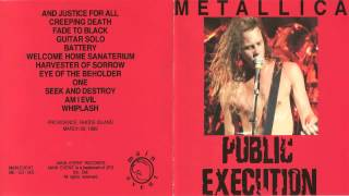 Metallica - Public Execution [Full Bootleg Album (1989]
