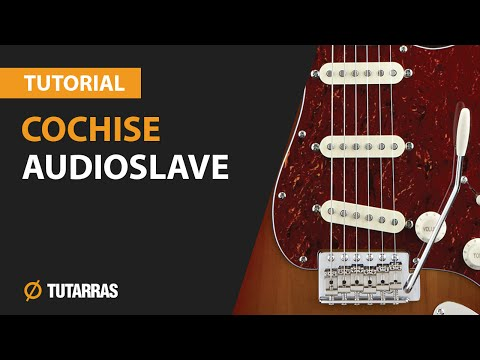 COCHISE - AUDIOSLAVE How to play - Electric GUITAR LESSON