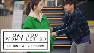 Jun Ki X Jung Eun | Say You Won't Let Go (Waikiki 2)