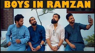 BOYS IN RAMZAN | Karachi Vynz Official