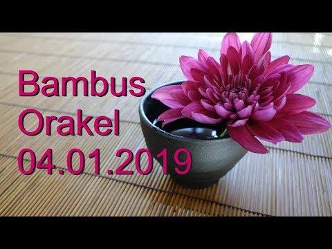 Bambus Orakel: 04.01.2019 (Freitag)