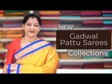 """<p style=""""color: red"""">Video : </p>NEW GADWAL PATTU SAREES COLLECTION"""