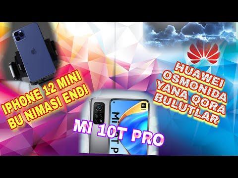 IPHONE 12 MINI ENDI NIMASI//XIAOMI MI 10T LAR XIAOMI DO'KONLARIDA// HUAWEI OSMONIDA QORA BULUTLAR