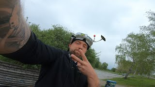 A Cloudy Day with FPV | TBS Crossfire Power