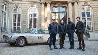 Barbour Gold Standard at Paris Fashion Week Men's Advert
