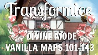 Transformice Divine Mode Vanilla Maps 101-143 | Spiri