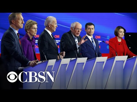 Key moments from the Iowa Democratic debate