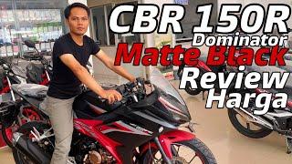 CBR 150 Terbaru 2020 Dominator Matte Black Sangar Poool Kang Mas Bro