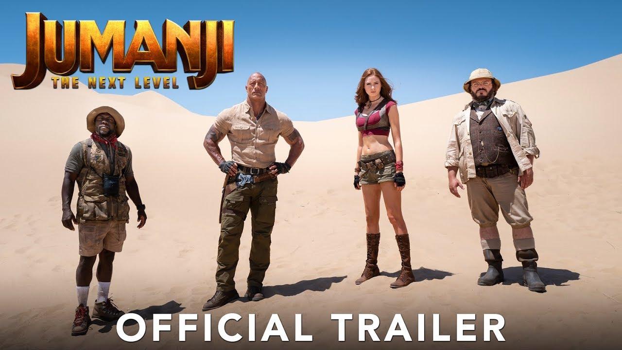 Trailer för Jumanji: The Next Level