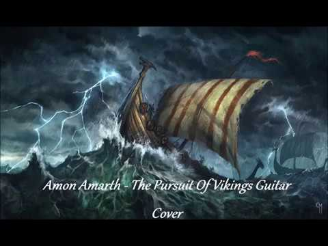 Amon Amarth - The Pursuit of Vikings Guitar Cover on ESP LTD MH 350 NT
