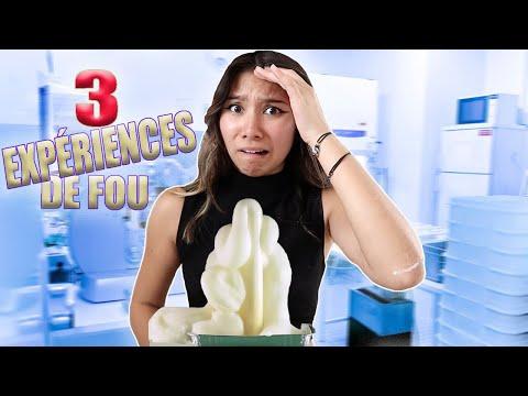 3 EXPÉRIENCES SCIENTIFIQUES