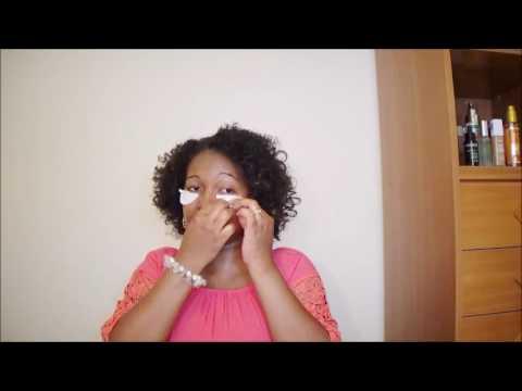 Les masques pour la personne avec lhuile jojoba