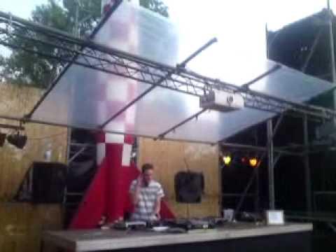 Sjoerd van Vlissingen op Raket Festival 2010