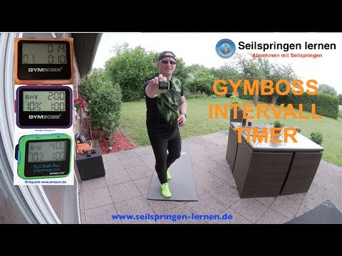 🔥⌚️ GYMBOSS INTERVALL TIMER