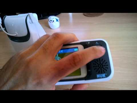 NUK Babyphone Eco Control plus Video im Test (deutsch)