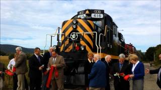 preview picture of video 'Hammondsport Branch Ribbon Cutting'