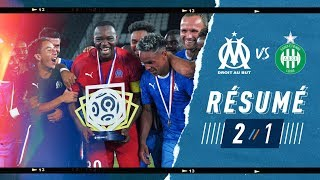 OM 2-1 Saint-Étienne Highlights #EALigue1games