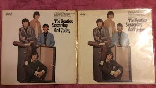 """Beatles Grail Update: """"Yesterday"""" And Today Mono 2nd State Butcher"""