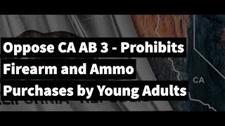 Battle of The Day: OPPOSE CA AB 3