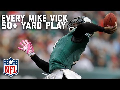 Every Michael Vick 50+ Yard Play! | NFL Highlights