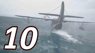 Uncharted 4: A Thiefs End Gameplay Walkthrough Part 10 - EPIC PLANE ESCAPE!