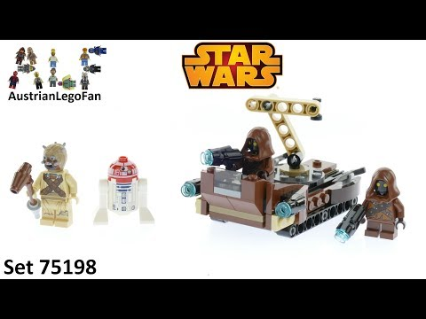 Vidéo LEGO Star Wars 75198 : Battle Pack Tatooine