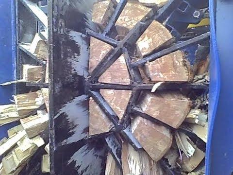 S u  Ü SSA 550, Brennholzvollautomat, Firewood, Full Prozessing, Spalter,  Brennholzspalter