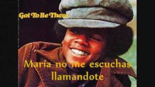 Maria (You Were The Only One) Español- Michael Jackson