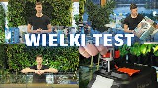 Test filtrów zewnętrznych - Aquael, Eheim, Fluval, JBL, Oase