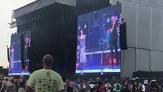 Chvrches ft Matt Berninger - My Enemy Live @ Lollapalooza 2018