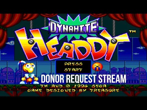 Dynamite Headdy - Donor Request Archive, 06/28/18