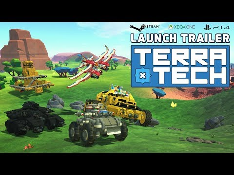 TerraTech Launch Trailer | Steam | Xbox One | PS4 thumbnail
