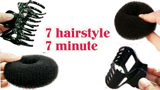 ~7 hairstyle 7 minute~ with HAIR TOOL    EASY juda for