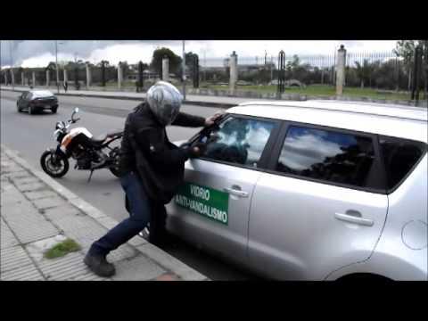 Vidrios para carro Antirrobo y vandalismo. Proteccion Antivandalica. No es una Pelicula