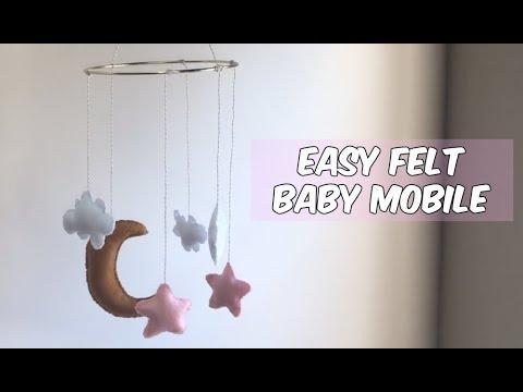 DIY FELT BABY MOBILE