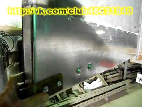 Латание дыр у термофургона.  Кузовной ремонт.