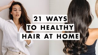 How to Fix Dry Hair and Split Ends | At Home Glow Up