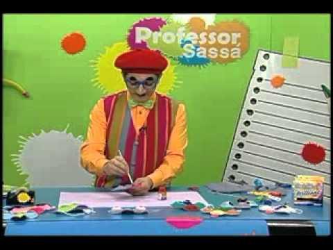 Máscara de monstro - Professor Sassá