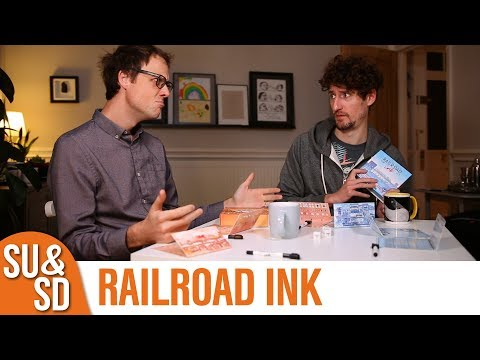 Shut Up & Sit Down reviews: RAILROAD INK