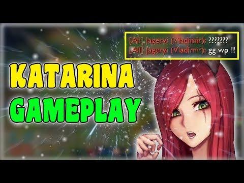 KATARINA GAMEPLAY - League of Legends | #8