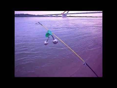 Видео. Рыбалка на Оби.    Левый берег.  Бугринка.